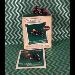 Vintage Hallmark Keepsake ornament- Harley